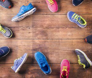 נעליים בכל מיני צבעים