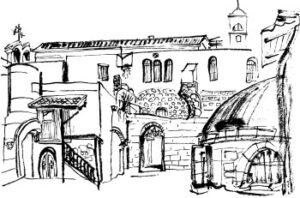 תרשים של ירושלים