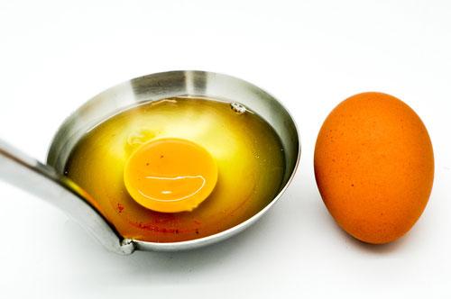 ביצה עם דם