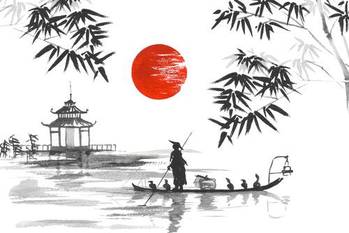 ציור יפני