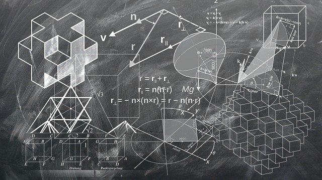 תרגילים במתמטיקה על לוח