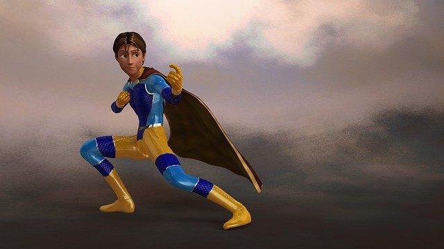 בחור סופרמן