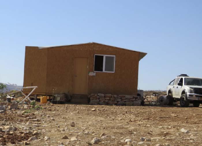 בית משפחת ירד בגבעת מגרון